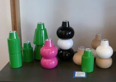 Astack Candlestick Holders by Helgo. via thevitrine.com