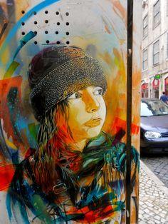 graffiti Graffiti Grandma street art Graffiti in Hamburg Murals Street Art, 3d Street Art, Street Art Graffiti, Street Artists, Graffiti Artwork, Mural Art, Amazing Street Art, Amazing Art, Inspiration Artistique