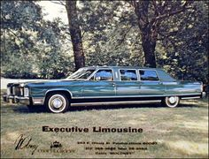 1976 Lincoln Continental Executive Limousine by Moloney