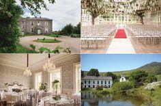 Gorgeous Irish wedding venues including The Millhouse, Slane and Maryborough House. Wedding Venue Inspiration, Wedding Ideas, Irish Wedding Dresses, Old Irish, Ireland Wedding, Real Weddings, Wedding Venues, September, Mansions