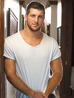 """This clip makes me swoon over you even more Mr. Tebow!!  People Magazine 2014's Sexiest Men Alive issue 