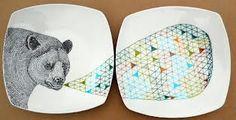 per dozen design Irish Design, Plates, Tableware, Unique Jewelry, Handmade Gifts, Crafts, Etsy, Vintage, Licence Plates