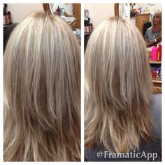 b4b65f2c6ba Ash blonde highlights and lowlights all over