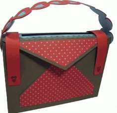Valentines messenger drop box-----------------------I think I'm in love with this shape from the Silhouette Online Store!