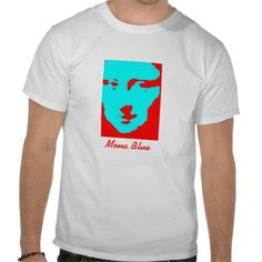 Mona Blue Tee Shirt http://www.zazzle.com/mona_blue_tee_shirt-235414794457225041?lang=es
