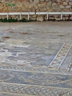 Villa of Dionysus at Dion, Greece