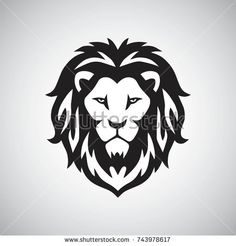 Find Lion Head Logo Vector Template Illustration Design stock vectors and royalty free photos in HD. Explore millions of stock photos, images, illustrations, and vectors in the Shutterstock creative collection. Lion Head Logo, Lion Head Tattoos, Lion Logo, Tatoos, Cloud Drawing, Lion Drawing, Lion Tattoo Design, Lion Design, Lion Stencil