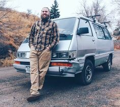 We geek out pretty hard when we see another Toyota van like ours, especially one with 4WD. We met up with @baere_kevin to marvel over his middle swivel seat, icebox, side windows and the way his van sounded when it was fired up. We spent about 15 minutes touring a space less than 40 square feet. Not everyone would want a rig like these trusty space cruisers. But what some might call junk, we only see potential.