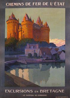 Henri de Renaucourt: Excursions en Bretagne, Le Chateau de Combourg, 1920