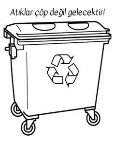 Enerji tasarrufu haftası Kindergarten Worksheets, Worksheets For Kids, Earth Day Activities, Activities For Kids, Community Helpers Worksheets, Trash Party, Preschool Colors, Montessori Materials, Paper Flowers Diy
