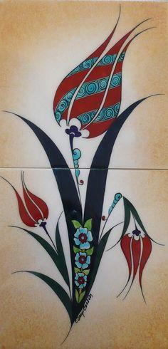 Çini Vazo&Tabak | İlgi Sanat Evi