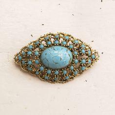 original_turquoise_vintage_brooch_overhead.jpg (900×900)