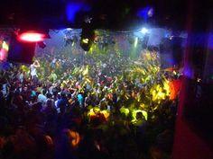 24. Party in an East European club...