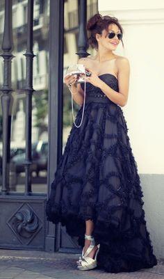 Patricia Perez look del dia outfit /precioso vestido!