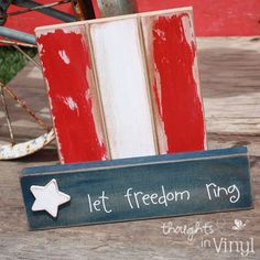 fourth craft ideas with wood | Rustic Chic 4th Of July Crafts | Rustic Crafts & Chic Decor