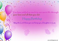 Special Birthday Wishes, Birthday Wishes For Daughter, Daughter In Law, Daughters, Are You Happy, Blessed, Lord, Wallpaper, Quotes