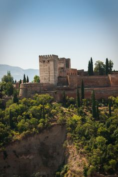 Alhambra - Granada - Spain (von Paolo Trabattoni) Been there! Alhambra Spain, Granada Spain, Places Around The World, Around The Worlds, Wonderful Places, Beautiful Places, Spain And Portugal, To Infinity And Beyond, Spain Travel