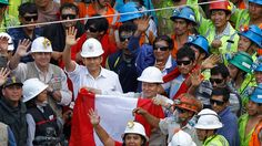 Peruvian miners rescued from collapsed copper mine