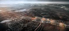 Zweedse mijnstad Kiruna verplaatst centrum - architectenweb.nl