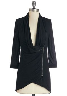 Portside Greeting Cardigan in Black - I just want all of these cardigans, every color.