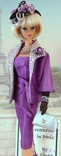 Weekend in Paris.  Love this outfit.  They're right - Barbie does have everything.
