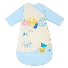 HAPPY CHERRY Autumn Baby Sleeping Bag Long Sleeves SleepSack Wearable Blanket - Thick Cotton - Cartoon Chicken - Blue - Suitable Height(29.52-41.33inch) - 1-5 Years - $97.59