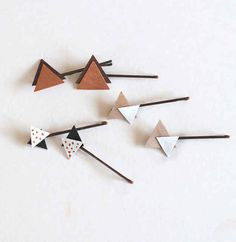 Triangle Hair Clips