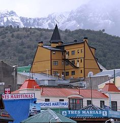 No matter where you look in Ushuaia, the Andes Mountains are in view.