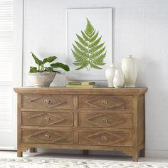 Six Drawer Directoire Dresser