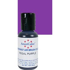 The Great American Cake - Americolor Amerimist airbrush color Violet/Purple, 20ml - Americolor Amerimist corante para aerógrafo Violeta, 20ml