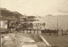 Rio de Janeiro: Praias Praia do Calabouço - começo do aterramento