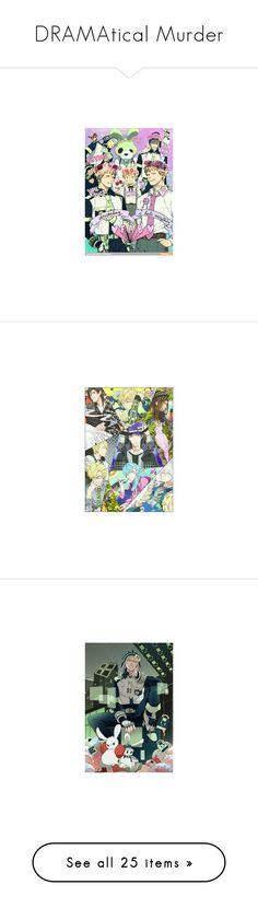 """DRAMAtical Murder"" by animejax ❤ liked on Polyvore featuring anime, anime boy, home, home decor, wallpaper, mobile home decor, animal wallpaper and mobile wallpapers"