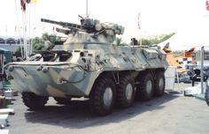 BTR-3U Guardian Armored Personnel Carrier (UAE)