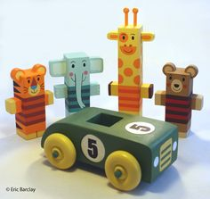 Eric Barclay: Wooden Toys
