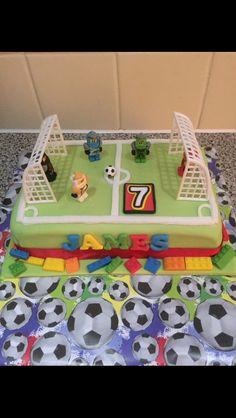 Ninjago football cake.