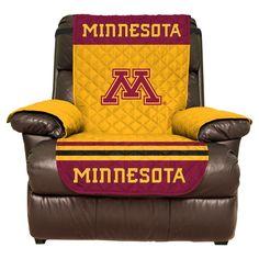 NCAA Minnesota Gophers Recliner Protector, Minnesota Golden Gophers