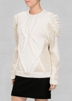 & Other Stories | Texture-Knit Sweater