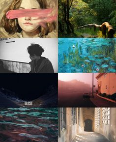 A beautiful INFP aesthetic collage . . . made by Julia