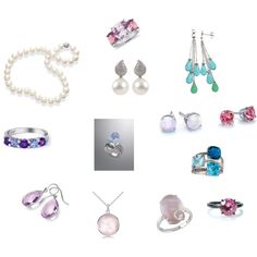 """Soft Classic TSu jewelry."" by tinabee1967 on Polyvore"
