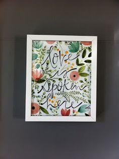 Rebecca Rose: Kitchen Wall Art