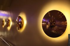 cymbal lights. I've seen these before! I definitely want to have these in my home
