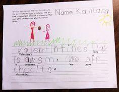 Teaching Kindergarteners to Write Paragraphs (!!!)