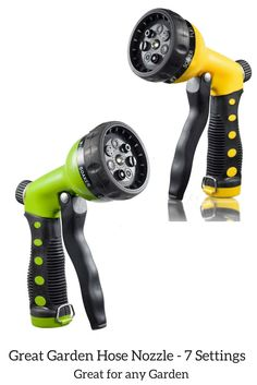 7 Settings Hose Nozzle - Ideal for all Garden purposes or Car and Driveway Washing.  http://pretmanns.com/lpnp/coupon_claim_code3/