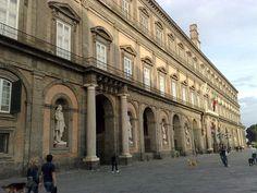 Palazzo Reale di Napoli (schiacciata) - Palazzi di Napoli - Wikipedia