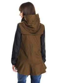 Ark & CO. Hooded Jacket www.purdygirlnyc.com
