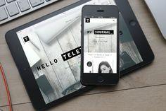 Minimalist Theme - Teletype Plus by DinevThemes on @creativemarket