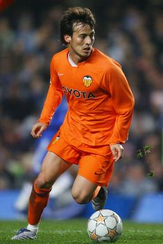 David Silva - Chelsea v Valencia - UEFA Champions League
