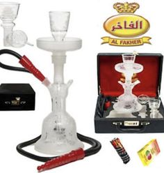 Al Fakher Glass Hookah 14?, (Clear) >>> You can get additional details at the image link. (This is an affiliate link and I receive a commission for the sales)
