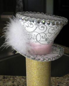 Mini Tea Party Top Hats. $20.00, via Etsy.