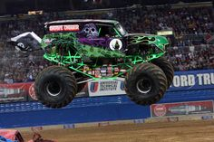 Grave Digger Monster Truck | Upcoming Million Fathers Club Events: Disney on Ice and Monster Jam!